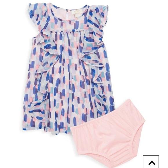 kate spade Other - Kate Spade Baby Girl Ruffled Dress